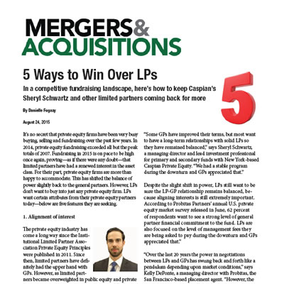 2015-08-24-mergers-acquisitions-5-ways-to-win-over-lps